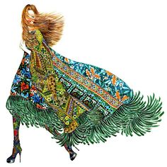 27 Fashion Illustration Accounts On Instagram That Will Remind You Of The Power Of Style Beauty Illustration, Illustration Artists, Dress Sketches, Fashion Sketches, Fashion Art, Fashion Beauty, Fashion Design, Fashion Ideas, Fashion Illustration Dresses