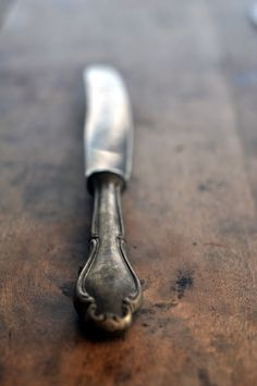 Silver spoon Knife