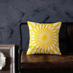 Bright Happy Yellow Cushion Covers - B