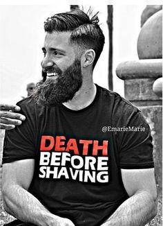 Si estás pensando en dejarte barba, aquí tienes un montón de fotos que te servirán de inspiración.