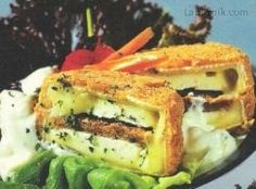 Plněný hermelín * Tempeh, Tofu, Sandwiches, Paninis