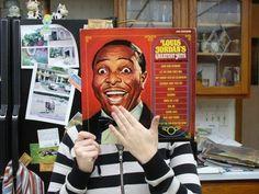 Reviving vinyl records - Louis Jordan