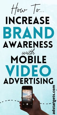 Mobile video advertising has the potential to take your brand to the next level given the massive number of active smartphone users. Let's find out, here! #mobileadvertising #advertising #brandadvertising #videoadvertising Youtube Advertising, Mobile Advertising, Brand Advertising, Display Advertising, Advertising Campaign, Online Marketing, Digital Marketing, Instagram Mobile, Mobile Video