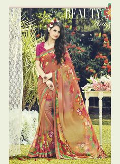 http://www.sareesaga.com/index.php?route=product/product&product_id=39354 Style:Casual Shipping Time:5 Days Occasion:Party Festival Fabric:Georgette Colour:Pink Work:Print Customer Support : +91-7285038915, +91-7405449283
