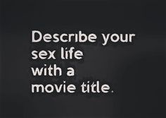 12 Years a Slave... I'mma Slave to my sex crave... Urghh!!! You?
