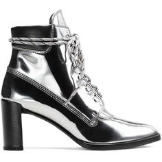Stuart Weitzman GIGI BOOT (€550) ❤ liked on Polyvore featuring shoes, boots, ankle booties, booties, iron grey, stuart weitzman boots, grey booties, grey ankle booties, gray ankle booties and stuart weitzman