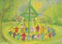 Marjan van Zeyl - Dansen om de meiboom