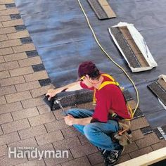 "Learn the difference between ""stair-stepping"" and ""staggering"" shingles when roofing a house, and why staggering, though faster http://roofing-tulsa.com/"