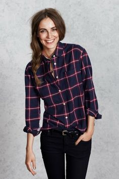 The Holecroft Shirt by Jack Wills...time to pull out those flannels!