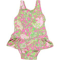Lilly Pulitzer Kids - Ruth Printed Swimsuit (Infant)