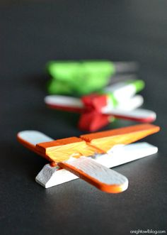 Fun Disney Planes craft to do with your kids!
