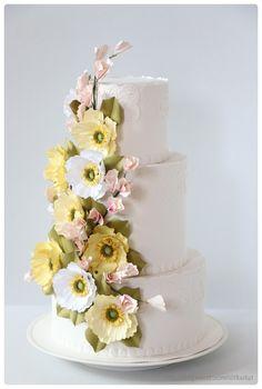 paper art - wedding cake