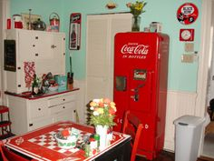 We could all use a Coca-Cola machine in the kitchen...