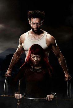Logan and Yukio. (The Wolverine.)