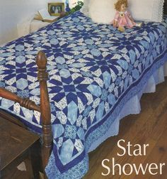 Star Shower Quilt Pattern From Magazine Caroline Reardon via wyldrabbit Patterns . Click on the image to see more!