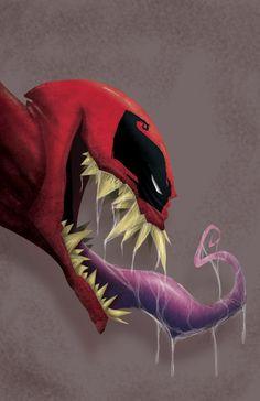 #Deadpool #Fan #Art. (Venompool) By: Eztikma. (THE * 5 * STÅR * ÅWARD * OF * MAJOR ÅWESOMENESS!!!™)