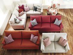 HGTV® HOME Custom Upholstered Great Room Sofa by Bassett Furniture