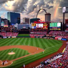 Awesome picture taken at Busch Stadium.