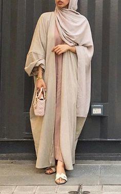 Abaya Style 14810 modest, hijabi queen, and hijabi fashion image