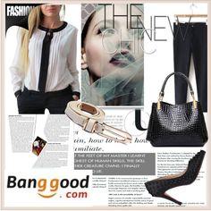 Banggood.com 1 by damira-dlxv on Polyvore featuring moda