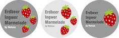 Erdbeer Ingwer Konfitüre