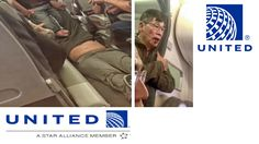 """A man was violently removed from a United Airlines flight by aviation police officials at Chicago's O'Hare international airport on Sunday, in an incident captured on video by several other passengers. In one clip, posted by passenger Audra Bridges to Facebook, guards can be seen aggressively grabbing, and then dragging, the passenger down the aisle of the plane, which was bound for Louisville, Kentucky. Other passengers can be heard screaming and shouting """"Oh my God"""" and """"Look at what you…"""