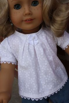 This item is unavailable American girl clothes 18 inch doll clothes by GrandmasDollCloset American Girl Outfits, American Doll Clothes, American Dolls, Sewing Doll Clothes, Girl Doll Clothes, Girl Dolls, Ag Dolls, Doll Dress Patterns, Clothing Patterns