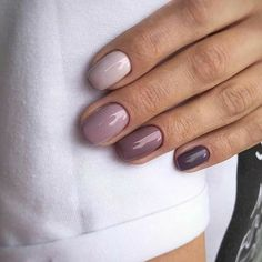 55 Best & Simple Nail Art Designs for 2019 Lady images 38 How to apply nail polish? Nail polish on your friend's nails looks perfect, but you can't apply n Purple Ombre Nails, Pink Nails, Gel Nails, Nail Polish, Nail Nail, Simple Nail Art Designs, Colorful Nail Designs, Easy Nail Art, Simple Art