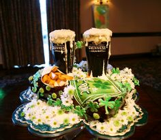 "Rosebud cakes...I don't drink much Guinness, but this I would definitely ""imbibe""!!!"