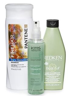 Hair products for thin hair