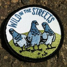 Wild In The Streets Patch por FrogandToadPress en Etsy