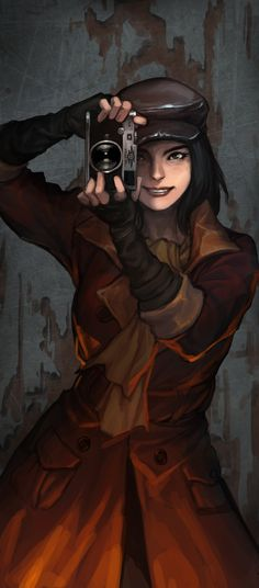 Piper in Fallout 4 Holy Bethesda give me more info or screenshot of companions such as piper Fallout Art, Fallout New Vegas, Fallout 4 Piper, Fallout 4 Funny, Fallout Posters, Fallout Watch, Fallout 4 Concept Art, Video Game Art, Apocalypse