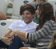 Louis and Eleanor! they are so cute together!!!:)