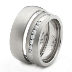 Discount Price: $107.00 - Titanium Matching Wedding Bands Promise Ring Set Wedding Bands For Men And Women