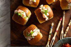Mini Shrimp Rolls recipe