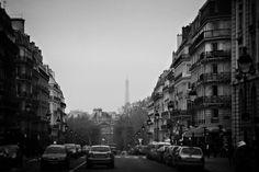 Paris. Noir et blanc.