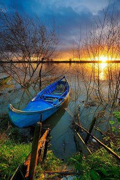 Beautiful sunrise: