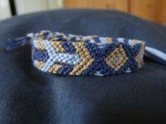 arrowhead patterned Friendship Bracelets, Pattern, Jewelry, Jewlery, Jewerly, Patterns, Schmuck, Jewels, Jewelery