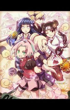 Anime Naruto, Naruto Cute, Naruto Girls, Manga Anime, Naruto Uzumaki Shippuden, Hinata Hyuga, Sakura And Sasuke, Sakura Haruno, Konoha Village