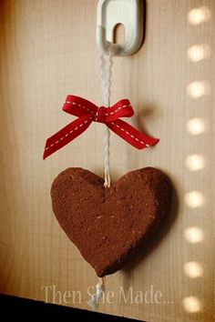 DIY air freshener valentine...christmas