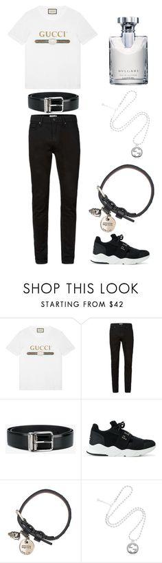 """#92"" by susan-michelle-tavares on Polyvore featuring Gucci, Topman, Dolce&Gabbana, Philipp Plein, Alexander McQueen, Bulgari, men's fashion y menswear"