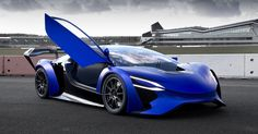 The Techrules TREV electric supercar concepts use turbines as range extenders, and produce a claimed 1,030 horsepower.