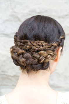 3 Ways To Style Summer's Hottest 'Do #refinery29  http://www.refinery29.com/braided-styles#slide22  And, there you have it! Note: The plumper you make the braids, the fuller the look.