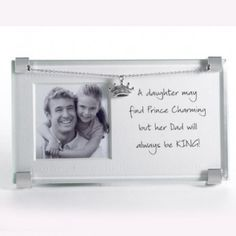 Dad and Daughter Clip Frame
