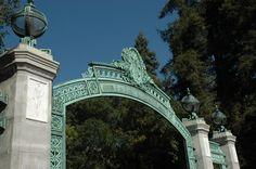 Sather Gate, UC Berkeley Campus