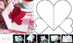 Best 11 PIN COUNT All these Valentines have been designed with small hands in mind. Valentines Day Cards Handmade, Valentine Crafts For Kids, Mothers Day Crafts, Valentines Diy, Papa Tag, Pop Up Karten, Heart Cards, Pop Up Cards, Valentine's Day Diy