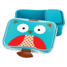 Skip Hop Zoo Lunch Box - Owl Matches the lunchbox I have! =D