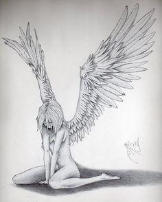 Fallen angel drawings google search art pinterest angel angel thecheapjerseys Gallery
