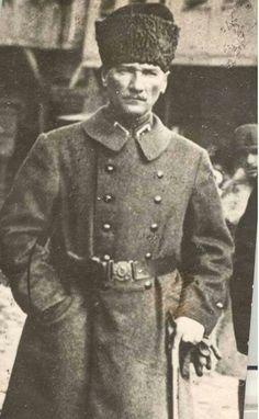Mustafa Kemal Atatürk (1881-1938). The Turkish officer was a Brigadier/Major General of the Ottoman Army (only 3 general ranks) when he commanded the XVI Corps during World War I. Later, with the same rank, he commanded the 2nd Army and afterwards the 7th Army. As supreme commander and president in the Turkish War of Independence he was eventually named a Marshal.