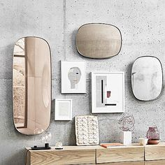 A firm favourite from Milan the Framed mirror designed by anderssenvoll for Muuto. via- danish, design